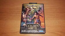Golden Axe 2 - Sega Mega Drive Game - Boxed with Instruction Manual