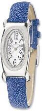 Ladies Charles Hubert Blue Stingray 0.68ctw Diamond 21x38mm Watch