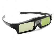 Active Shutter 3D TV Glasses Rechargeable For BenQ DLP-Link 144Hz 3D Projector