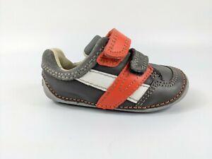 Clarks Baby Boys Leather Shoes 3.5 G Eu 19 Pristine