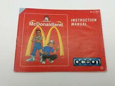 McDonaldsland - NES- Anleitung B-Ware