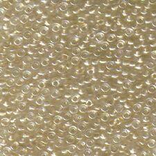 Miyuki Seed Beads 8/0  Sparkling Metallic Gold Lined Crystal 8-234 (10g)