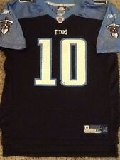 Youth Reebok On Field Tennessee Titans NFL  #10 Young Jersey XL, Nice!!