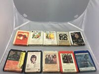 Vintage 10 Lot of 8 Track Cassette Tapes,Assorted Tested.Lighthouse,Heart,Smokie