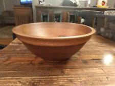 Pottery Barn Mill Wood Turned Bowl 1749 - Brand New - Open for Inspection.