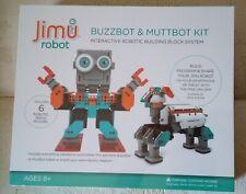 BrandNew sealed UBTECH JIMMU BUZZBOT & MUZZBOT KIT ROBOTIC BUILDING BLOCK SYSTEM