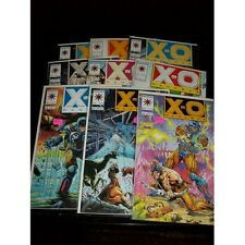 LOT of 9 X-O Manowar - Valiant comic books #s 14 15 16 17 20 22 27 29 31