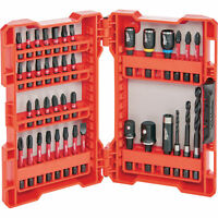 Milwaukee 48-32-4006 Shockwave Impact Duty Drill and Drive Set 40-Pc.