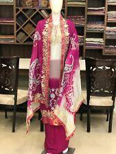 Zari & Aari Fusion Kashmiri Suit, Woman Indian Ethnic Wear, Designer Salwar Suit