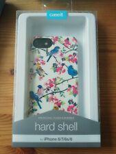 Case It Phone Case for Apple iPhone 8/7/6/6s Vintage Birds Hardshell Case Cream