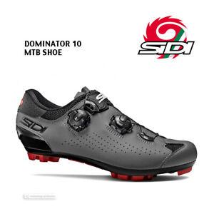 NEW 2021 Sidi DOMINATOR 10 Mountain Bike MTB Shoes : BLACK/GREY