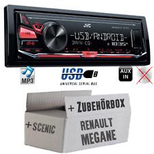 JVC Radio für Renault Megane & Scenic 2 Autoradio Android 4x50Watt KFZ MP3 USB