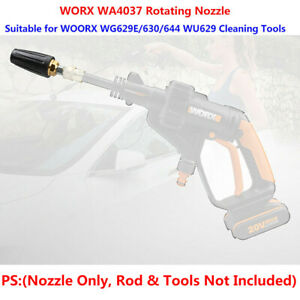 1Pcs WORX Hydroshot Cleaning Tools WG629E WG630/644 WU629 WA4037 Rotating Nozzle