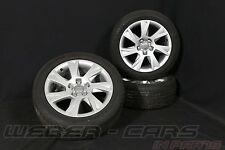 Orig. Audi A5 8T 17 Zoll Alufelgen Sommerräder DUNLOP Somerreifen 225 50 R17 94Y