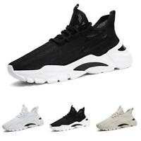 Men Fashion Sneakers Shoes Outdoor Running Sports Mesh Breathable Gym Non-slip B