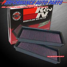 Two K&N 33-2290 Hi-Flow Air Intake Filters for 2004-2008 Chrysler Crossfire