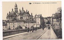 périgueux , pont des barris et cathédrale -
