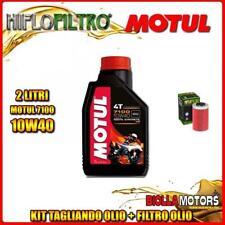 KIT TAGLIANDO 2LT OLIO MOTUL 7100 10W40 KTM 690 Enduro 1st Oil Filter 690CC 2008