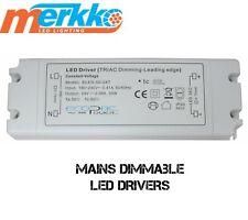 Mains Dimmable LED Driver Power Supply Transformer 50 Watt 12 Volt Constant Volt