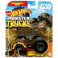 Hot Wheels Monster Trucks STAR WARS CHEWBACCA VHTF NEW Mattel Jam GGT47