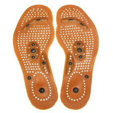 New Hot Health Foot Feet Care Magnetic Therapy Massage Insole Shoe Thenar Pad  チ