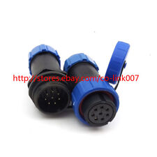 IP67 8Pin Waterproof Auto Connector CLSP21 LED Waterproof Connector Motor Plug