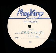 "Slaughter Joe(W/Lbl Test Pressing 12"" Vinyl)I'll Follow You Down-Creati-Ex/Ex"