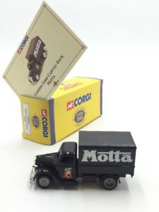Ford Canvas Motta 1/55 Corgi Trucks Yesteryear n34/50 Box COA Proch Of New