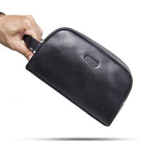 Genuine Leather Men/Women Shaving Accessory Dopp Toiletry Travel Organizer Bag
