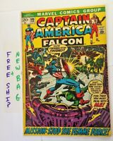 Captain America 146 issue 1971 Marvel Comic Book Captain America and the Falcon