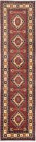 """Vintage Hand-Knotted Carpet 2'10"""" x 11'0"""" Traditional Oriental Wool Area Rug"""