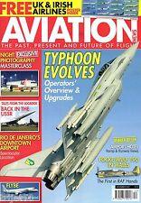 Aviation News 2012 December Typhoon,Rio,Flybe,F-105 Thunderchief