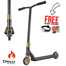 Chilli Scooters Crown Reaper Stunt Scooter - Black/Gold