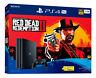 Sony PlayStation 4 Pro 1TB Red Dead Redemption 2 Console Bundle - Jet Black