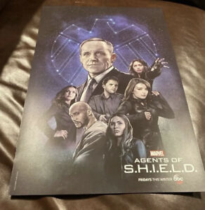Marvel Agents of Shield New York Comic Con NYCC 2017 Promo Poster Avengers 13x19