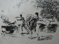 Max LIEBERMANN (1847-1935) - 2 Lithografien,  ca. 1910