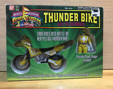 1994 Mighty Morphin Power Ranger~Thuder Bike Yellow Ranger~MIB~Box Not Mint