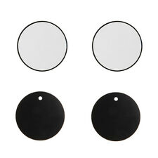 4Pcs Replace Metal Round Plate For Magnetic Car Dash Mount Phone GPS PDA Holder