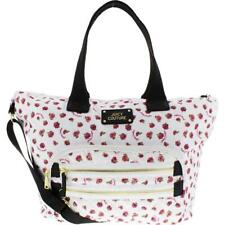 Juicy Couture Womens Neon Lights White Weekender Handbag Extra Large BHFO 9661