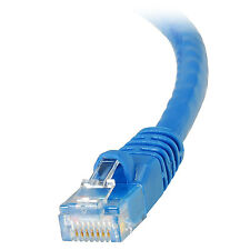 Cat 6 Computer Network Patch Cable 550 MHz 100 ft. Blue