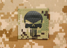 Infrared AOR2 NWU III Punisher Morale Patch IR US Navy SEAL Molon Labe VELCRO®
