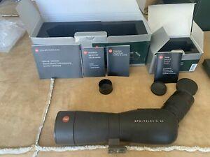 Leica Spotting Scope APO Televid 65 with 25-50x Zoom Eye Piece WW ASPH