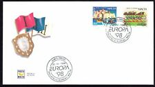 Malta 1998 Europa First Day Cover FDC SG 1075 - 1076 Not Addressed