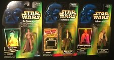 "SLAVE LEIA Bespin Han Solo LUKE SKYWALKER  Star Wars 3.75"" action figures Kenner"