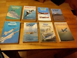 Observers Book Of Aircraft (German Copy +7 books)