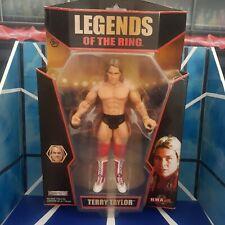 Terry Taylor - Legends of the Ring - Boxed WWE Jakks Wrestling Figure