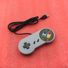 Retro Super Nintendo SNES USB Controller Jopypads For Win Mac SF PC Gamepads NEW