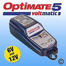 OPTIMATE 5 - 6V AND 12V VOLTMATIC BATTERY CHARGER AND CONTIONER