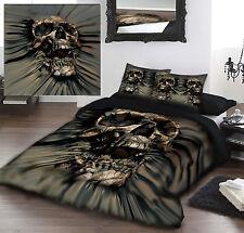 Skull rip-thru-parure de lit pour lit grand format artwork by david Penfound