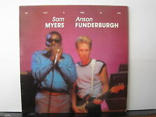 SAM MYERS and ANSON FUNDERBURGH My Love Is Here To Stay VINYL LP Free UK Post